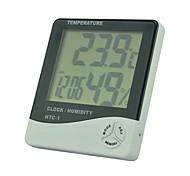 elektronische Haushaltsthermometer Innentemperatur und Luftfeuchtigkeit Meter Haushalts htc - 1