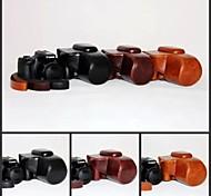 dengpin rétro pu huile de cuir caméra peau étui de protection Housse avec port de charge pour Canon Powershot hs de SX60