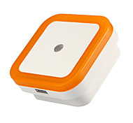Cool Lntelligent Light-Control Night Light (Square,Orange)