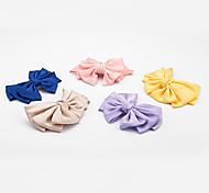 1PC Korean Bowknot Barrette(Random Color)
