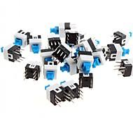 7 x 7 mm de 6 pines del interruptor autoblocante / interruptor de la llave (50 PC)