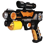 With Cartoon Projection Electric Toy Gun(Colors Random)