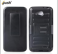 Defender Series Robot PC and Silicone Hybrid Full Body Case with Stand for  LG L90 D405