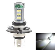Zweihnder H4 15W 1400lm 6000-6500K 27xSMD 2835 LED White Light Bulb for Car Fog Light (12-24V,1 Pieces)