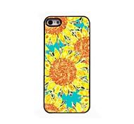 Sonnenblumen-Design Aluminium-Hülle für das iPhone 4 / 4s