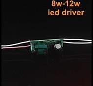 10pcs 8-12w driver di potenza per lampadina led (CA 85-265V)