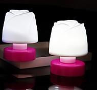 couleur rose dans la nuit la lumière de la lampe