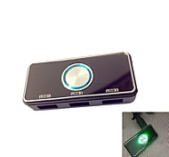 Newest Three USB Ports Car Charge with Cigarette Lighter 2.1A*3, 5.0-5.5DC Output