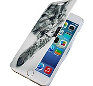 Lazy Cat Magnetic Flip Full Body Case with Hole for iPhone 6