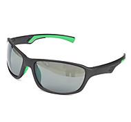 Occhiali da sole maschi / donne / Unisex's Classico / Sportivo / Di tendenza Rettangolare Nero Occhiali da sole / Sportivo Full-Rim