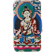 Kinston Religious Pattern Two Pattern PU Leather Full Body Case with Stand for Motorola Moto X