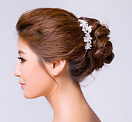 Women's Rhinestone / Alloy Headpiece-Wedding / Special Occasion Hair Pin Clear