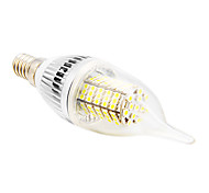 E14 5 W 102 SMD 2835 350 LM Warm White / Cool White CA35 Candle Bulbs AC 220-240 V