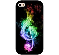 Colorful Musical Note Pattern Back Case For Iphone 4/4s