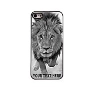 Personalized Phone Case - Wild Lions Design Metal Case for iPhone 5/5S