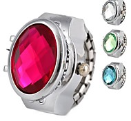 Women's Brilliant Alloy Analog Quartz Ring Watch (Assorted Colors) Cool Watches Unique Watches