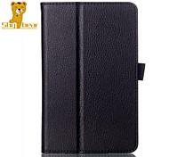 """oso tímido ™ caso de la cubierta de cuero elegante oroginal para bloc de notas asus 7 me176c 7 """"tableta pulgadas"""