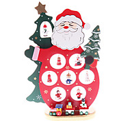 Wooden Santa Claus Furnishing Articles Gifts