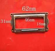 8pcs/set Drawer  Label  62MM*31MM