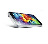 5.1 дюймовый курил тянуть тип металла бампер трудно задняя крышка для Samsung Galaxy S5 i9600 (разные цвета)