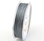 100M / 110 Yards PE Braided Line / Dyneema / Superline Fishing Line Gray 75LB 0.32 mm ForSea Fishing / Fly Fishing / Bait Casting /