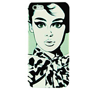 Beautiful Girl in Scarf Pattern Case for iphone 5/5S