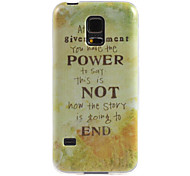 Design Power custodia morbida per Samsung Galaxy s5
