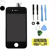 LCD Screen & Front Glass Digitizer Replacement Full Assembly for Apple iPhone 4S(Assorted Color)