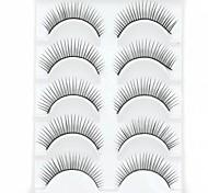 Wimpern Augenwimpern Augenwimpern Dick / Natürlich lang Voluminisierung / Natürlich / Dick Faser