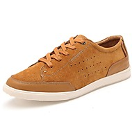 Men's Shoes Casual Leather Fashion Sneakers Black/Blue/Brown