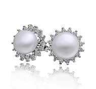 New Arrival Top Quality Elegent Pearl Stud Earrings
