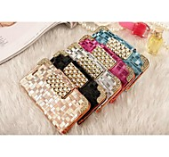 The New Elegant Diamond Mobile Phone Protective Sleeve+Chain for iPhone 6S/6 Plus(Assorted Colors)