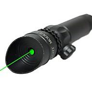 lt-10081 groene laser pointer (5 MW, 532nm, 1x16340, zwart)