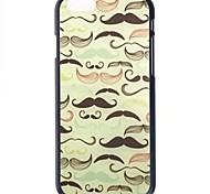 Beard Pattern Hard Back Cover for iPhone 6
