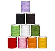 DIY Chinese Knot Nylon Jewellery Rope Mixed Color(10Pcs)