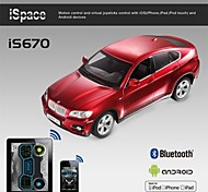 i-control de bluetooth con licencia coche BMW X6 para el iphone, ipad y is670 androide