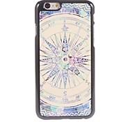 Compass Design Aluminium Hard Case for iPhone 6