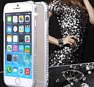 Luxus Kristall Strass Diamant Bling Metallkastenabdeckung Bumper für iPhone 5