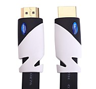 2M 6.56FT VENTION® 19Pin Gold Plated Flat Male to Male HDMI Cable V2.0 for Computer