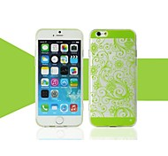 New Super Thin Transparent Lucky Grass Mobile Phone Shell for iPhone 6 Plus(Assorted Colors)