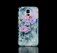 Flowers Pattern Glow in the Dark Hard Case for Samsung Galaxy S5