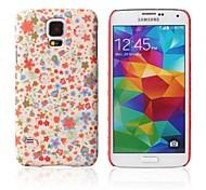 kleine gebroken bloem patroon met rubber design case harde case voor Samsung Galaxy S5