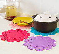 Sunflower Pattern Silicone Cup Mat K3463
