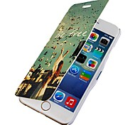 Be Free Magnetic Flip Full Body Case with Hole for iPhone 6