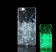 Night sky Pattern Glow in the Dark Hard Case for iPhone 6