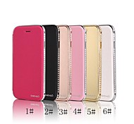 SHENGO™ Diamond Metal With Leather Case for iPhone 6(Assorted Color)