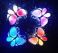 LED Color Change Luminous Butterfly Hairpin Halloween Props (Random Color x1pcs)