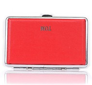 Personalized Red Metal Cigarette Case Cigarette Packets(14)