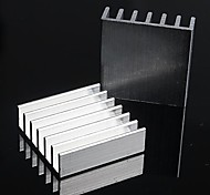 Aluminum Heat Sink / Electronic Radiator / Cooling Aluminum Block - Silver (20 x 20 x 6mm)  (10Pcs)