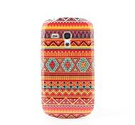 Orange Stripe Hard Back Case for Samsung Galaxy S3 Mini i8190